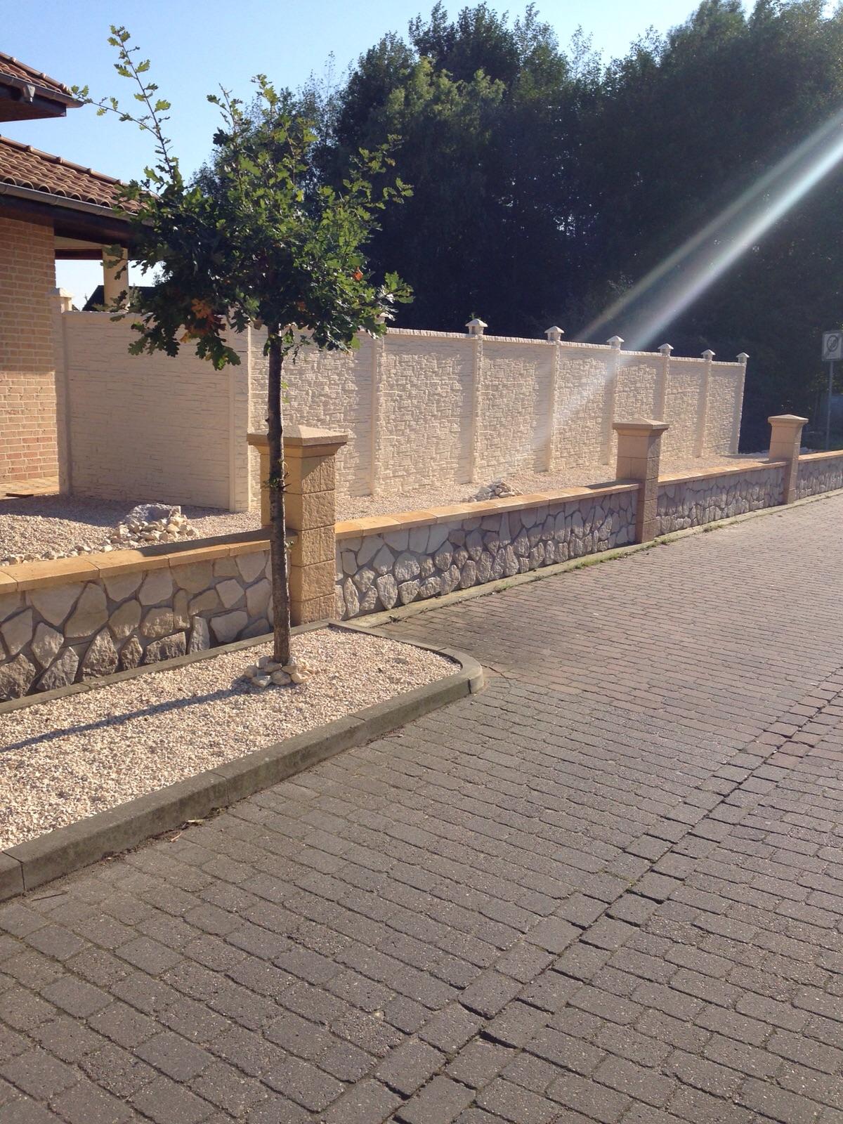 Farby do betonu - Ogrodzenia betonowe